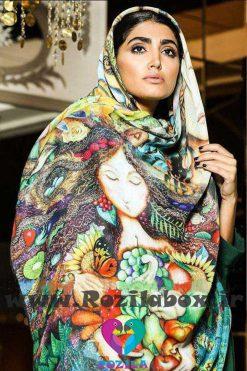 روسری نخی کد 121