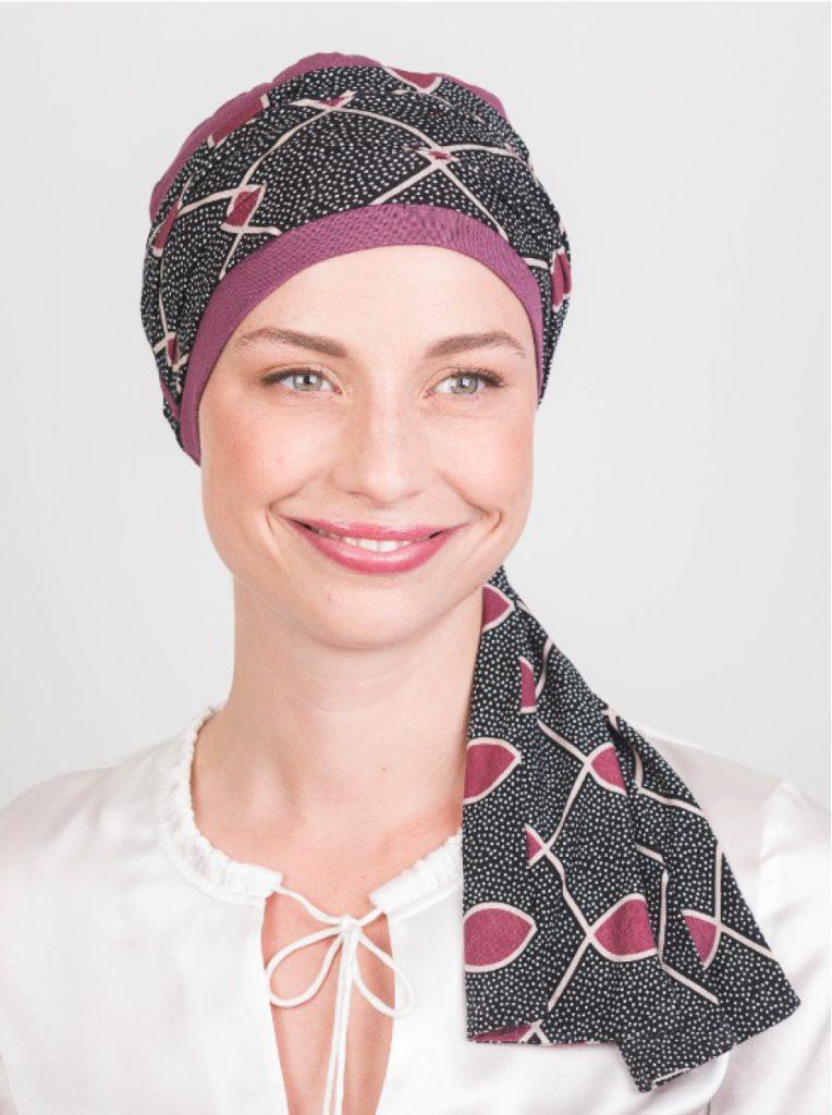استفاده از روسری ابریشمی به جای هدبند